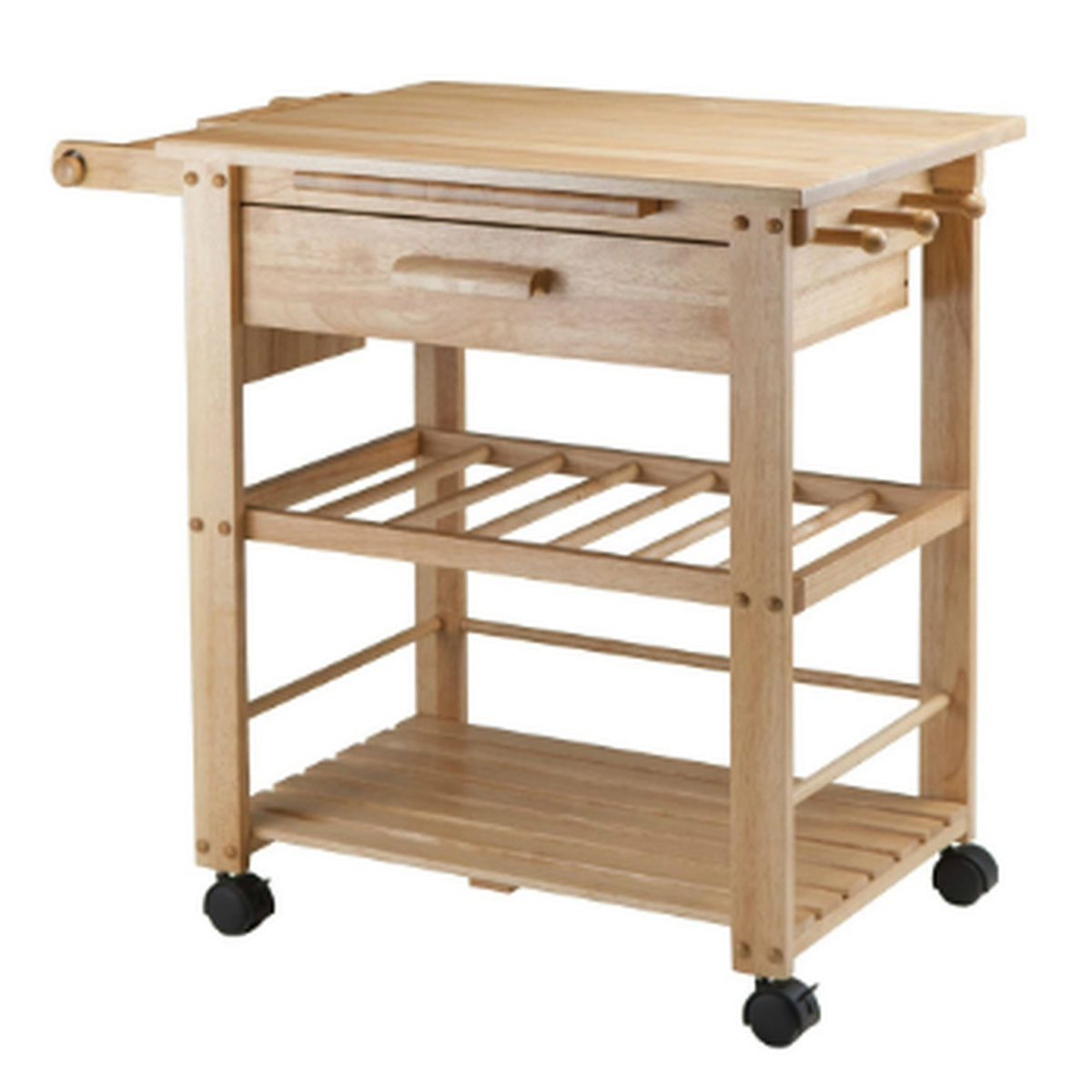 Crosley Roots Rack Industrial Kitchen Cart In Natural: 10 Ikea Essentials And Their Best Alternatives