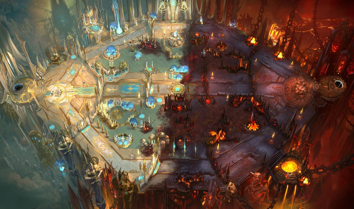 Heroes of the Storm - Battlefield of Eternity map