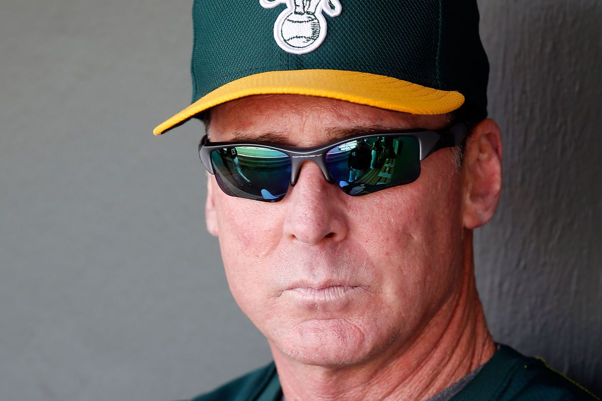 Manager Bob Melvin has a few dozen puzzle pieces, and he has to figure out how to put them together to create a picture of an elephant.
