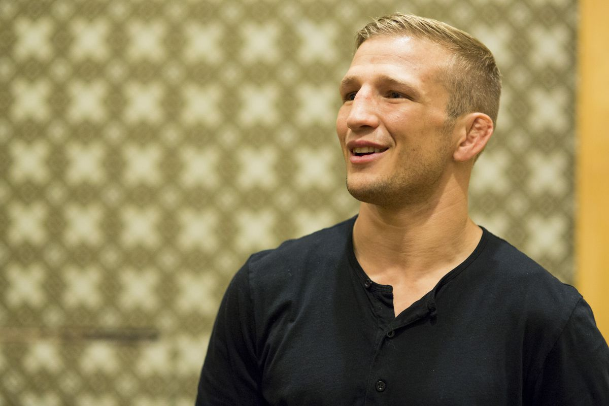 Morning Report Tj Dillashaw Says Cody Garbrandt Is Only Mad At