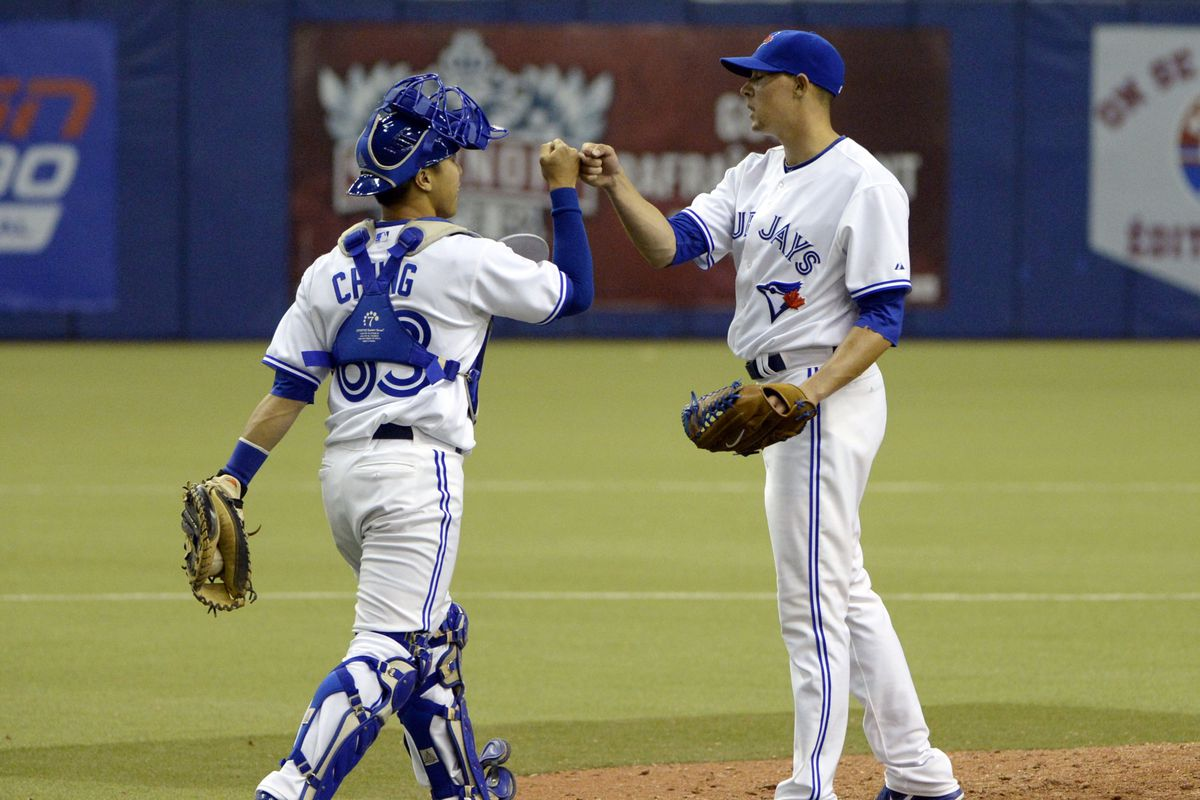 The Montreal Bump: Derrick Chung and Aaron Sanchez both got promoted after appearing in Montreal this spring.