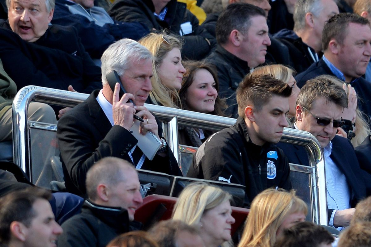 Early returns suggest that Alan Pardew will not be phoning in this transfer window. At least on shipping players out...