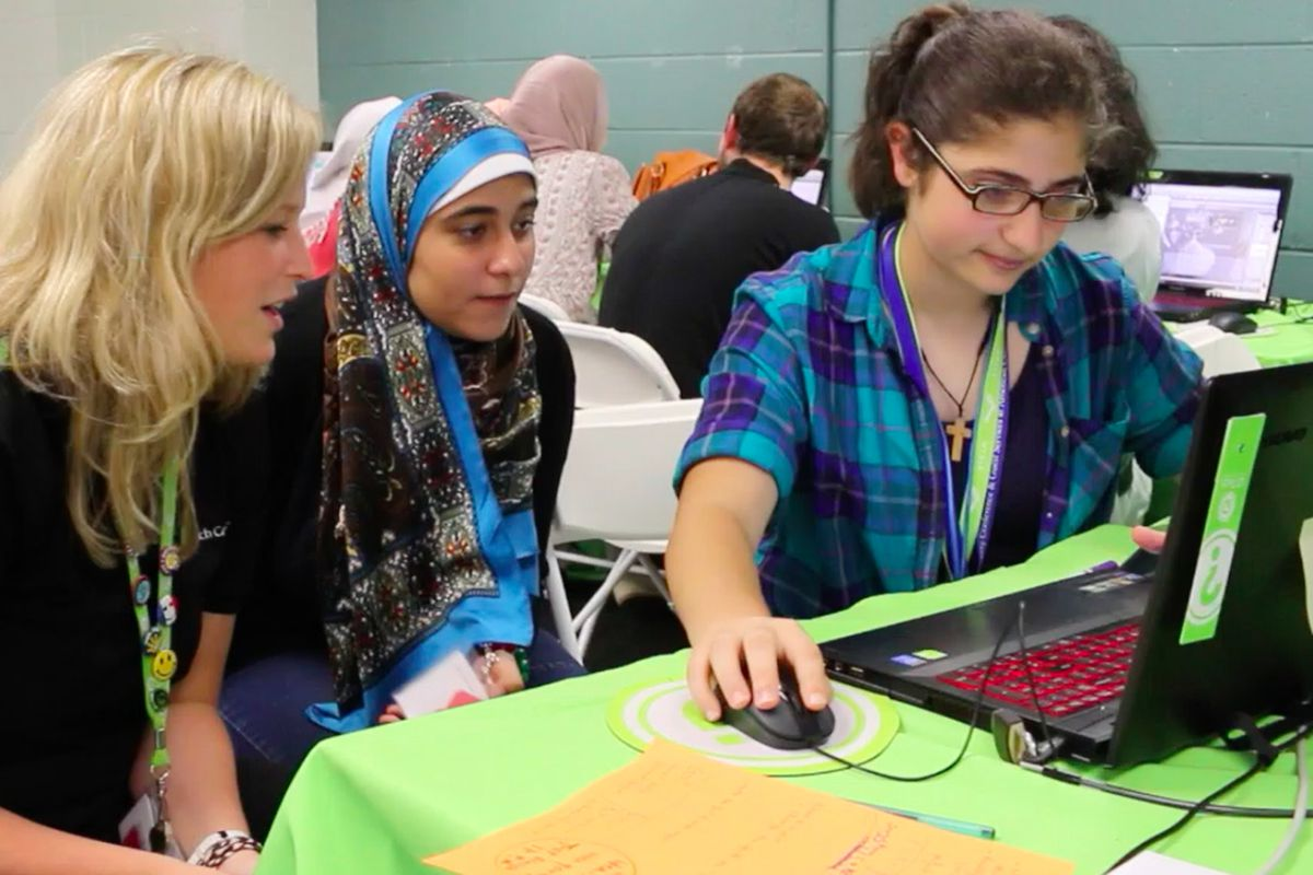 Encouraging Girls to Embrace Tech, No Matter Where They Live (Video)