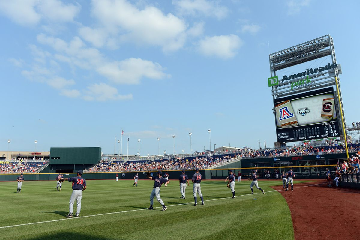 Pitt hopes to reach Omaha and TD Ameritrade Park for the first time this season