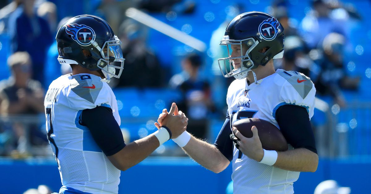 Former Browns GM Michael Lombardi has some interesting comments about the Titans quarterbacks