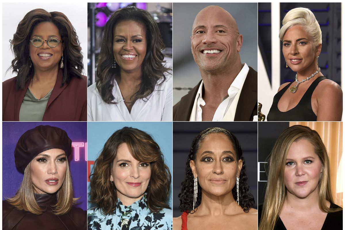 Oprah wellness tour to include Michelle Obama, Lady Gaga, J.Lo, Tina Fey and more