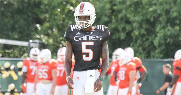 Miami Hurricanes Football QB NKosi Perry Suspended For