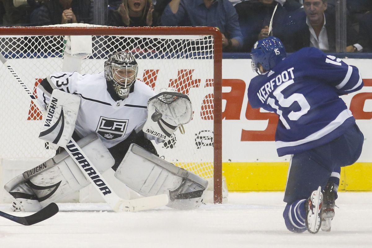 Toronto Maple Leafs vs Los Angeles Kings