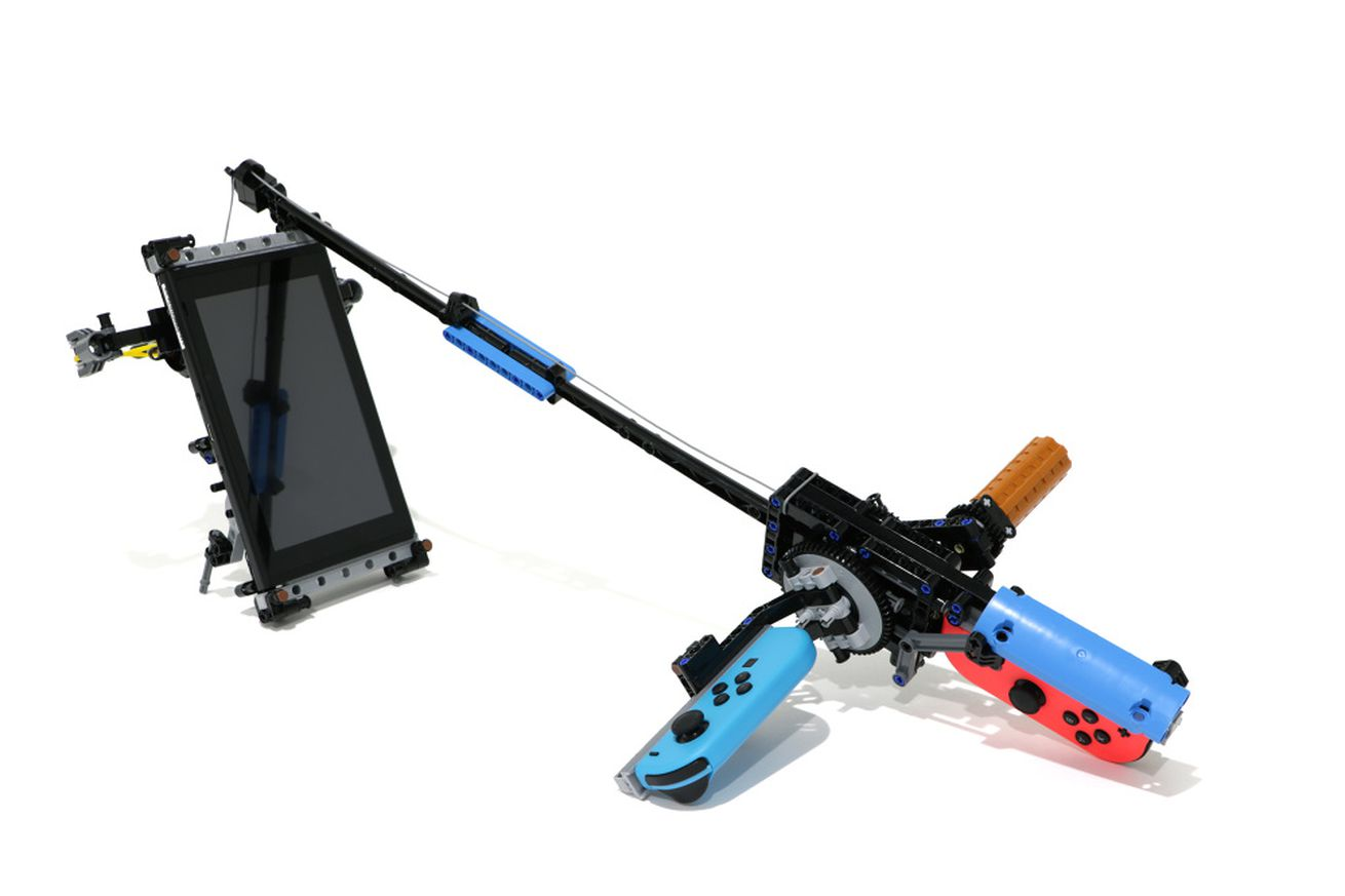 lego designer combines nintendo labo form with lego functionality