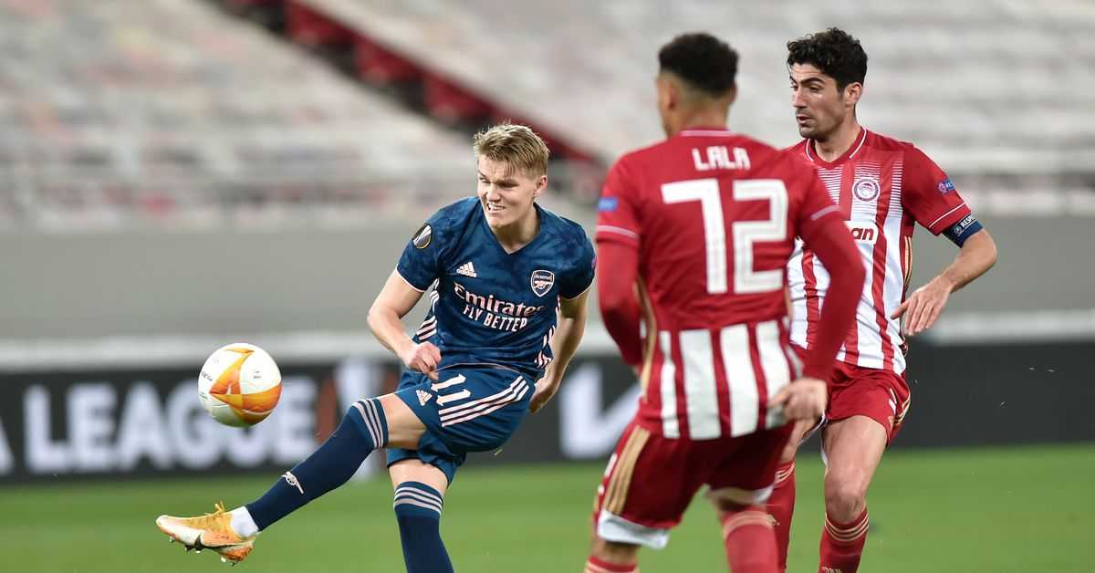 WATCH: Martin Odegaard's First Goal for Arsenal - Managing Madrid