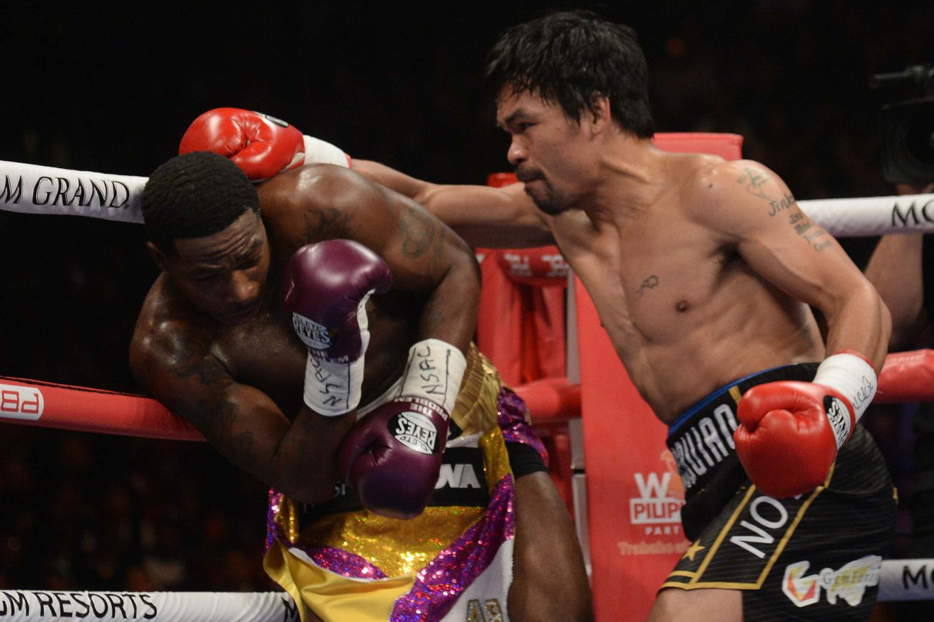 usa today 12028654.1547837843 - Recap and reaction from Pacquiao vs. Broner