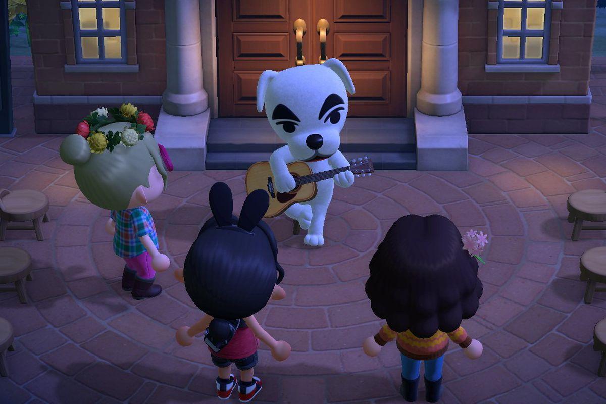 Animal Crossing: New Horizons (Switch) K.K. Slider song list ...
