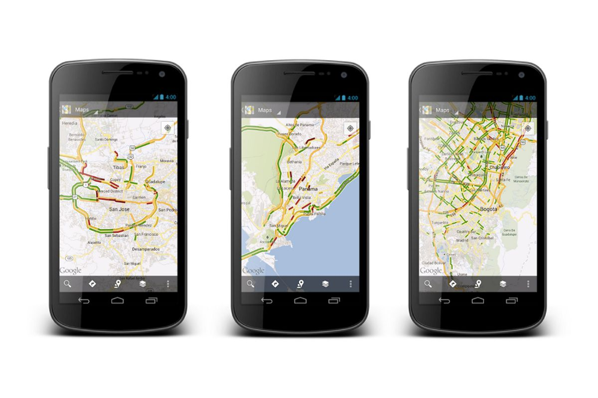 Google Maps Adds Live Traffic To 130 New Us Cities Capitals Of