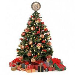 <b>Holiday Decorations</b>:  JBFA medallions look great on top of Christmas trees,  inside of festive wreaths, next to spooky Halloween displays, and they're easier to hide than Easter eggs.