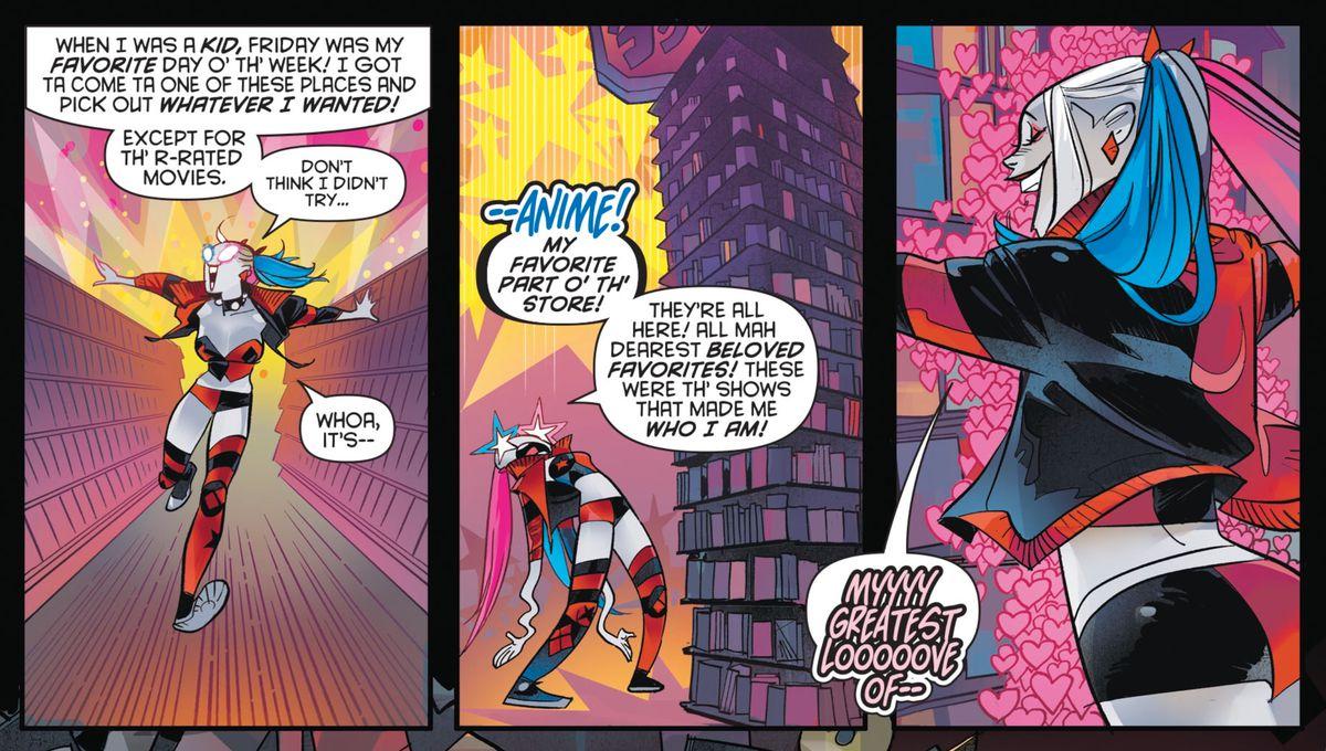 Harley Quinn in Harley Quinn #63, DC Comics (2019).