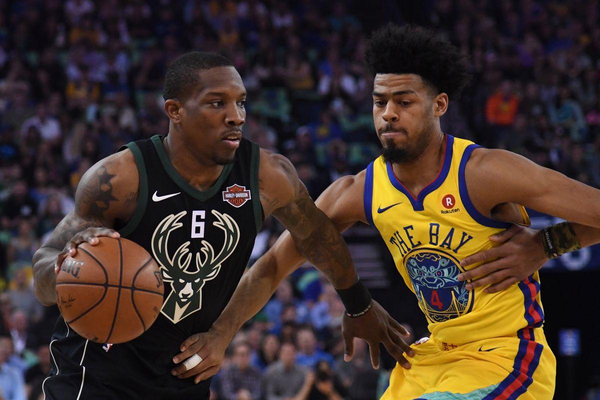 NBA: Milwaukee Bucks at Golden State Warriors