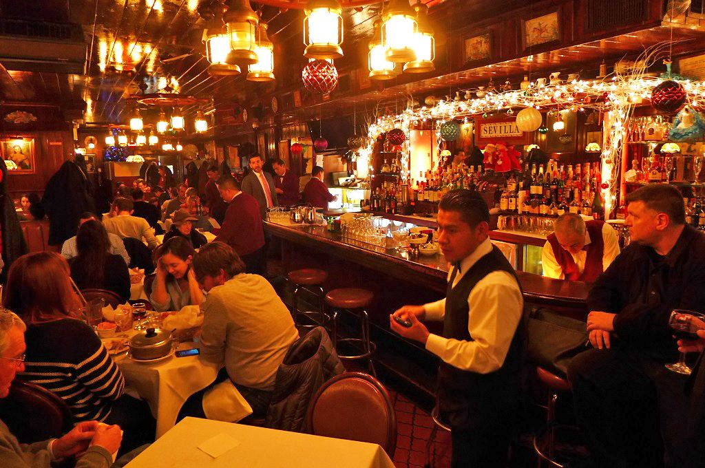 10 Old Fashioned Spanish Restaurants To Try In New York