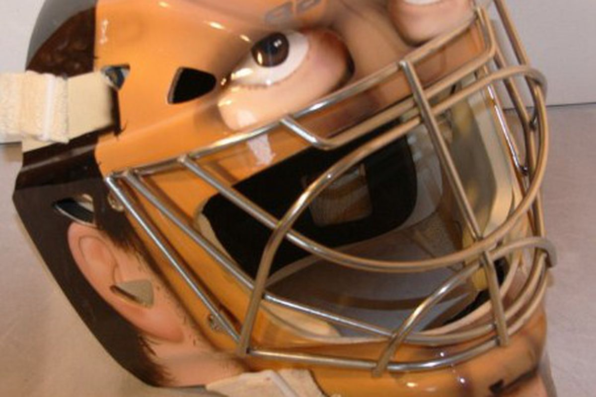 Carey Price will wear a special mask for Sunday's Heritage Classic at McMahon Stadium.
