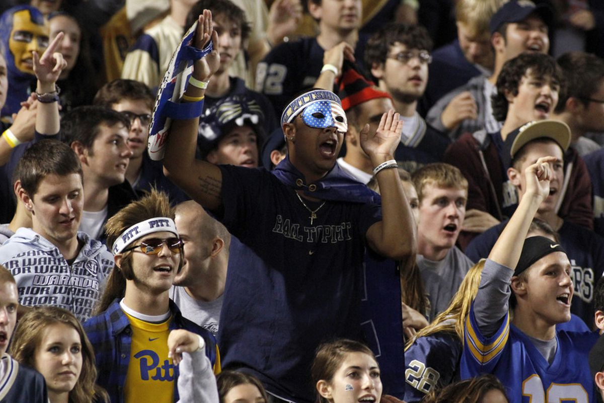 Each trip to Heinz Field for a Pitt game produces thousands of fans sporting the PittScript throwback gear, even in the student section.