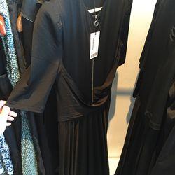 Carven draped Jersey dress $300 (was $760)