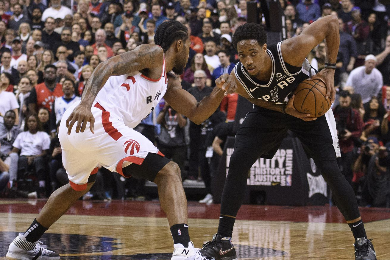 NBA: San Antonio Spurs at Toronto Raptors