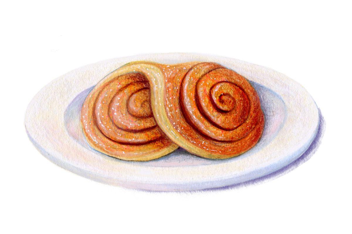 Oreja, an ear-shaped pastry