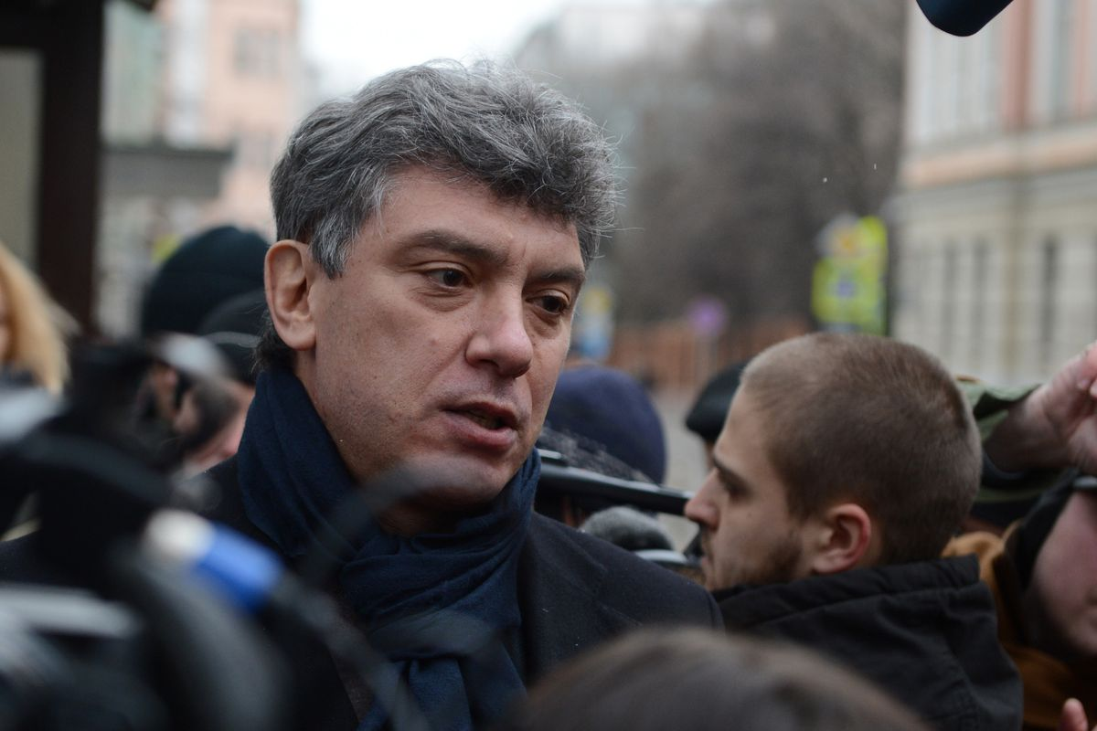Slain Russian opposition activist Boris Nemtsov