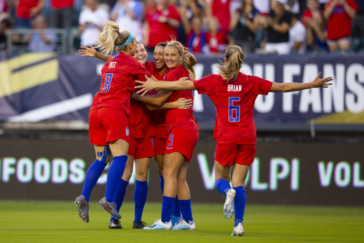 Portugal v United States - USWNT Victory Tour
