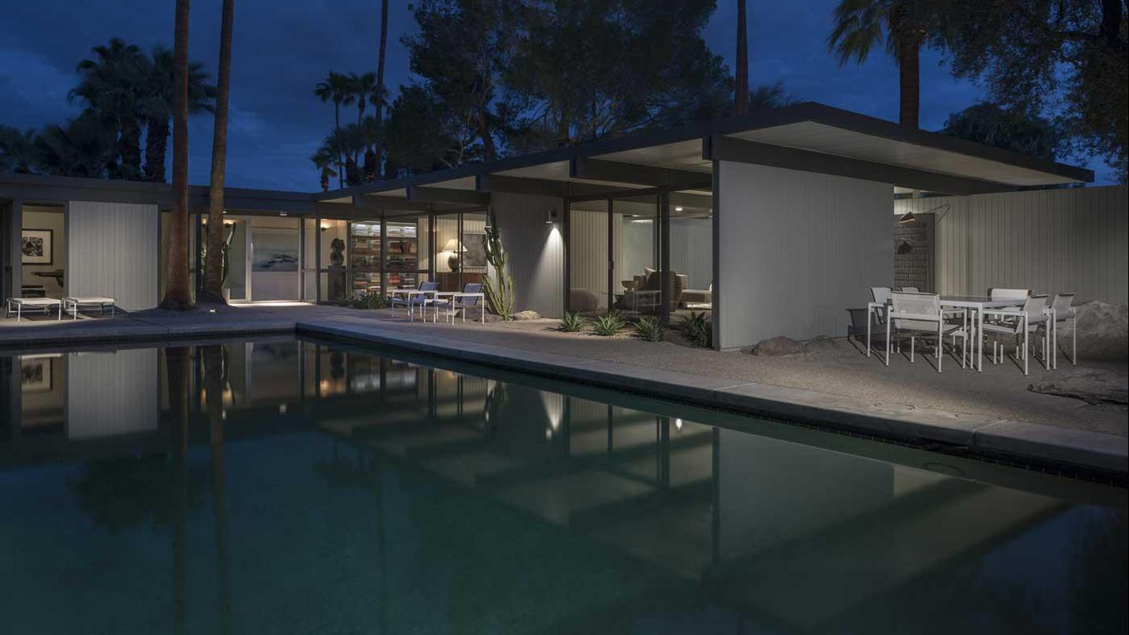 buy the modernist palm springs house of the architect who invented palm springs modernism