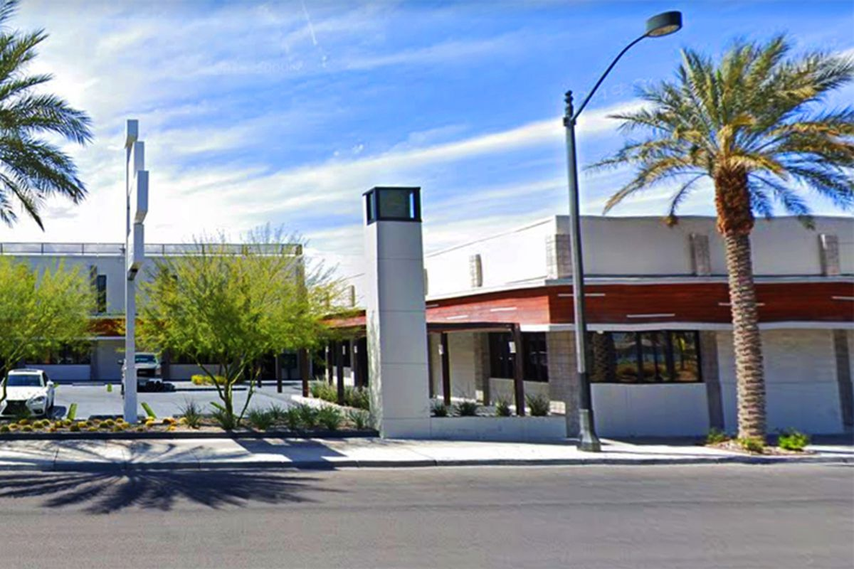 The Hop Building on downtown's Third Street and the future home of the Vegas Vegan Culinary School and Eatery.
