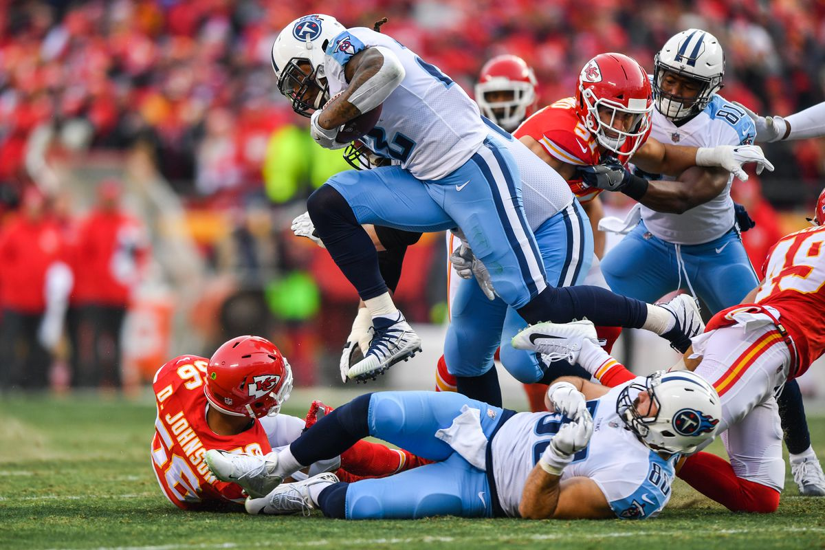 brand new 8f5bc 11d09 2018 NFL playoffs  Titans upset Chiefs in wild card round, set up potential  meeting with Patriots