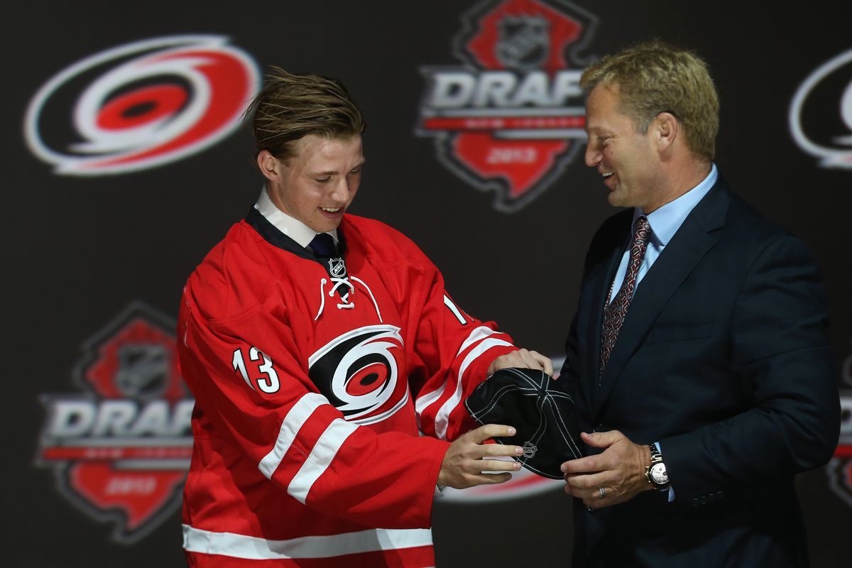 Will Kirk Muller be back to welcome the 2014 draft pick of the Hurricanes?