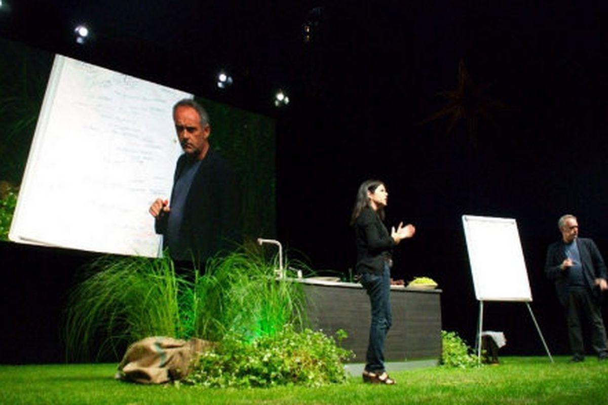 Ferran Adrià at last month's MAD Symposium