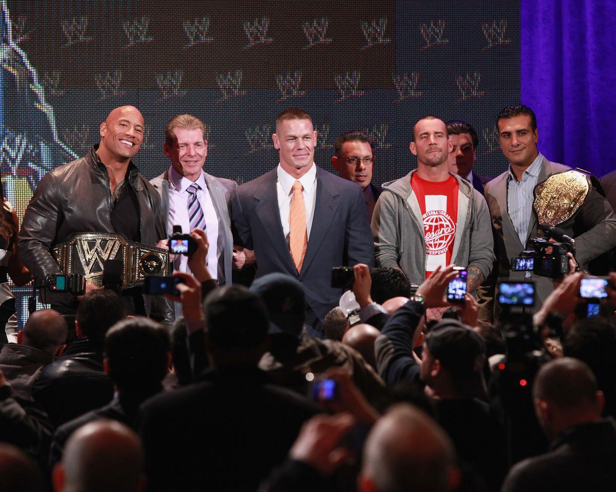 WrestleMania 29 Press Conference