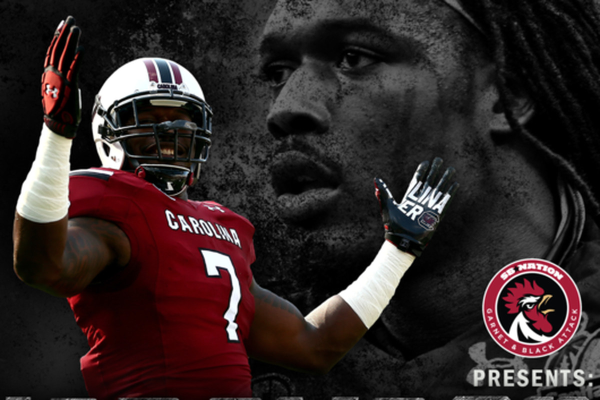 A graphical timeline of Jadeveon Clowney's tenure at South Carolina.