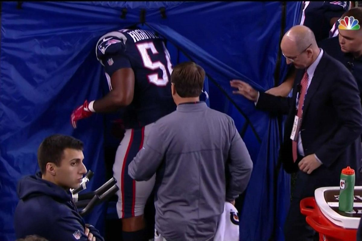 New England Patriots LB has MCL sprain, could return Week 2