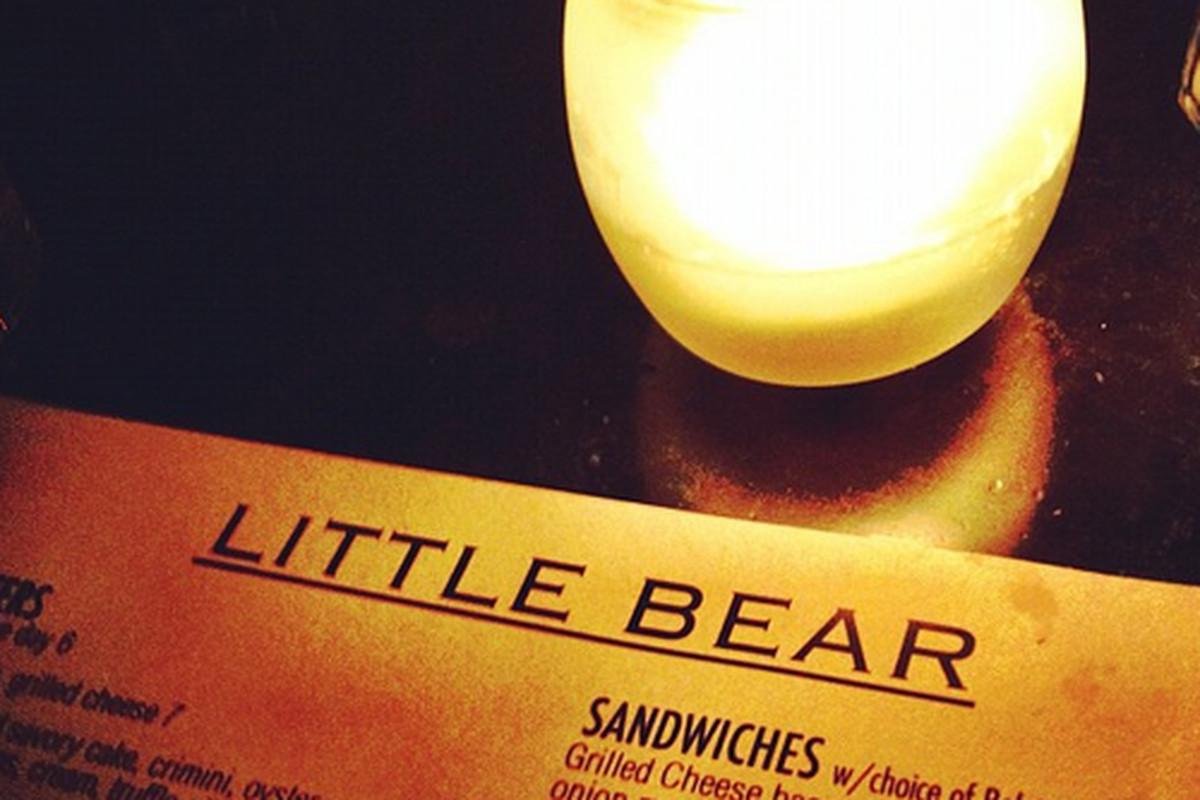 Inside Little Bear, Downtown.