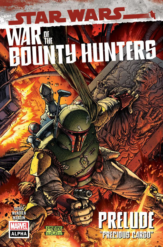 Boba Fett War of the Bounty Hunters #1 cover