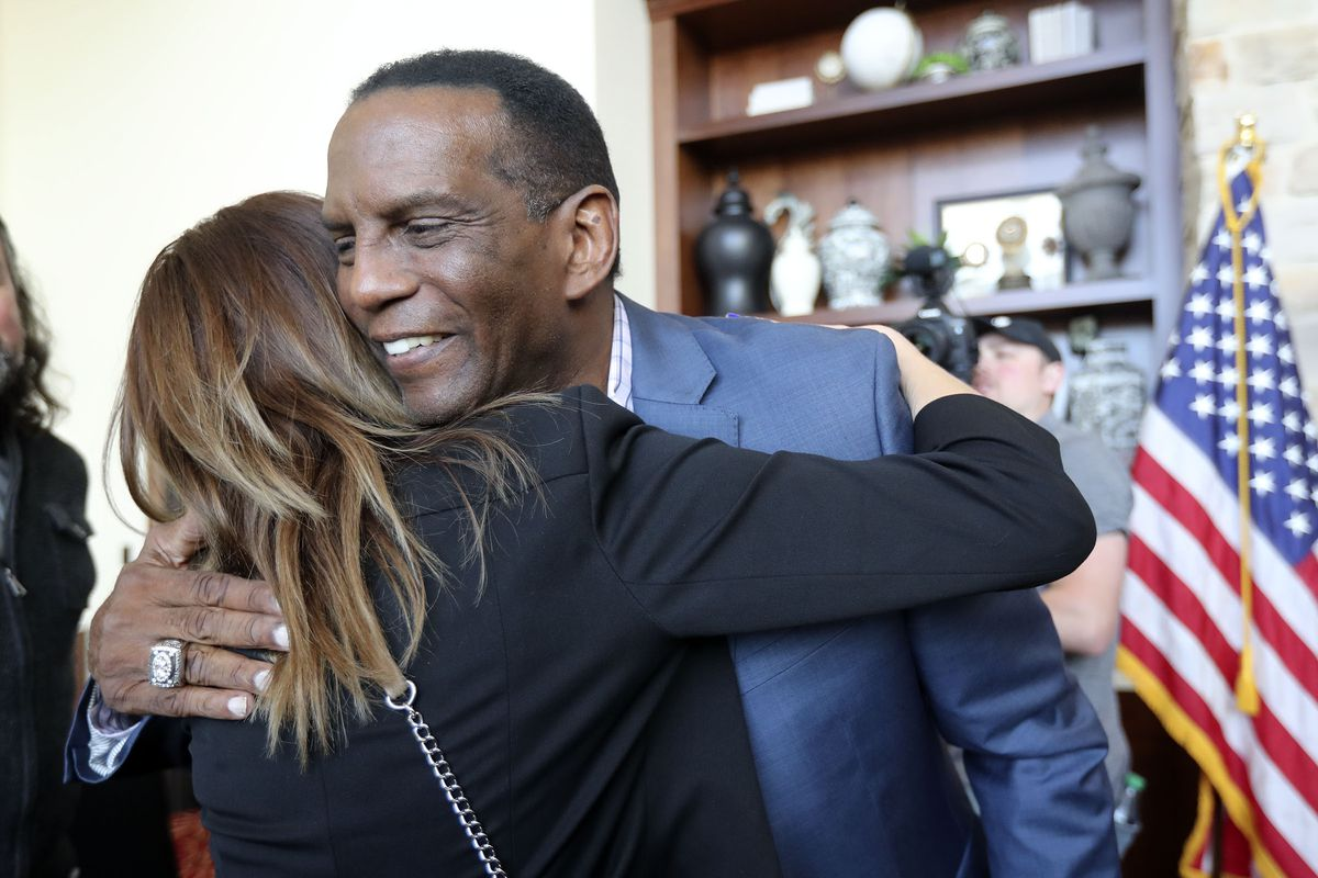Image result for Burgess Owens Praises President Trump For What He's Done For the Black Community