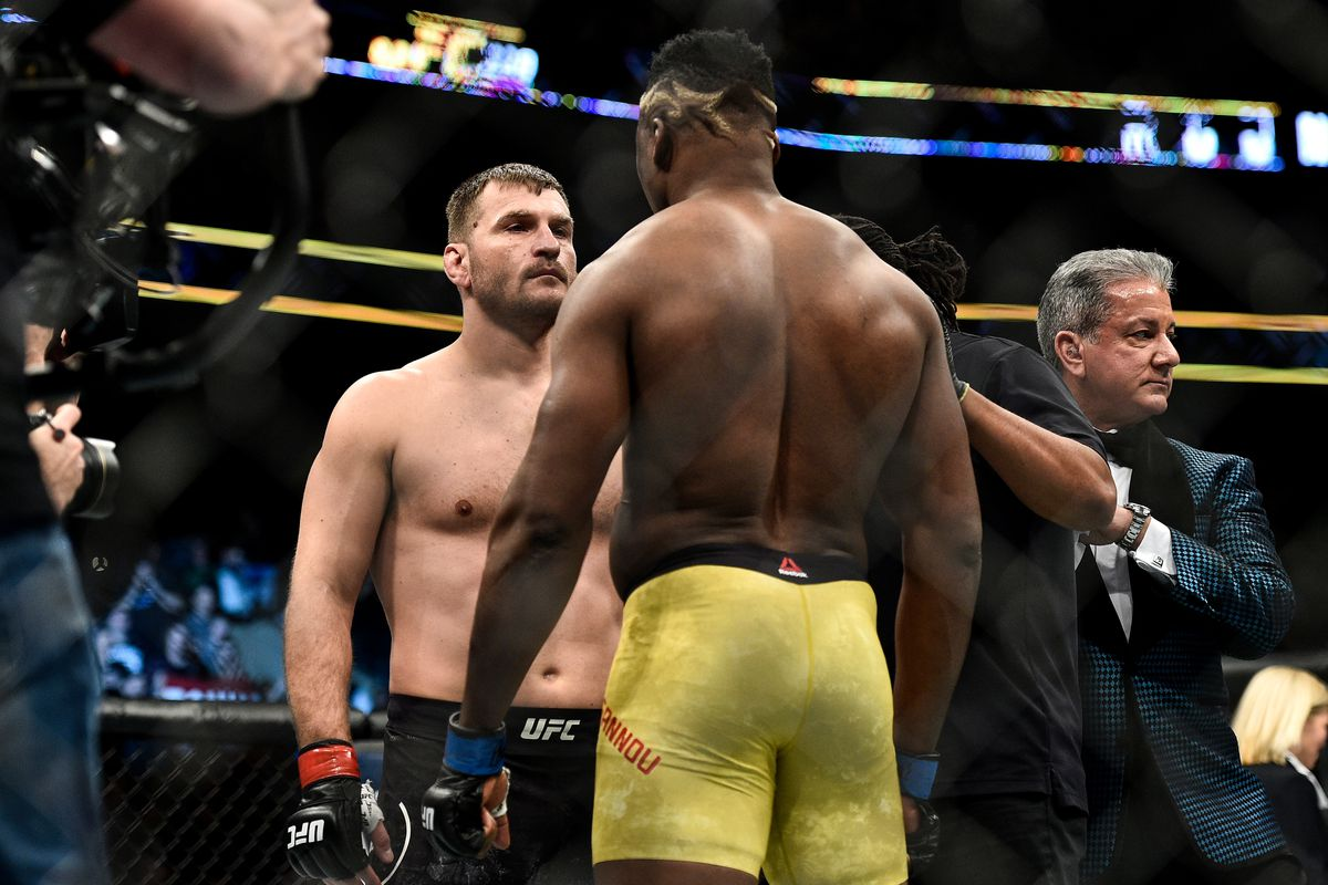 Francis Ngannou anoints himself 'uncrowned champ' after Dana White delays Stipe Miocic rematch until March - MMAmania.com