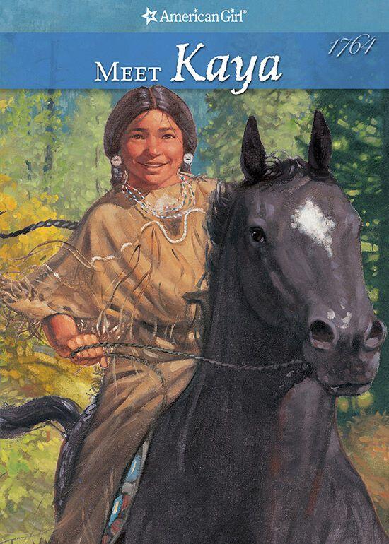 kaya on a horse