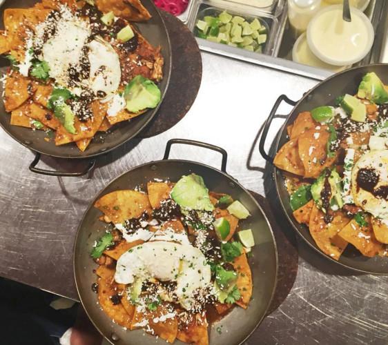 Toro's chilaquiles