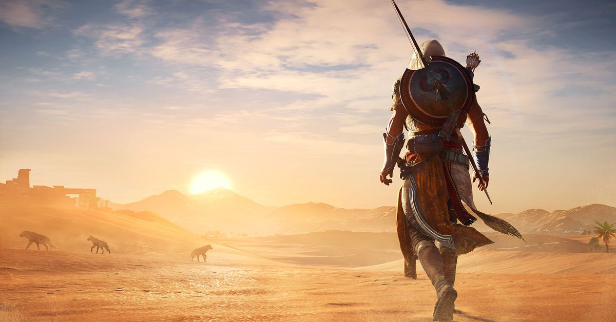 Assassin S Creed Origins Map Takes Almost Three Hours To Cross