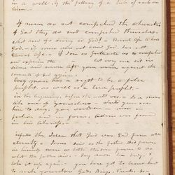 On the third page of the April 7, 1844, entry, Willard Richards kept a detailed account of Joseph Smith's famous funeral sermon for King Follett.