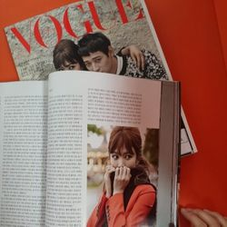 I visit <i>Vogue</i> Korea to hang with their beauty editor, Zoo Lee. Browsing through their September issue featuring model and actress Song Hye Gyo I am convinced that her bangs are the perfect accessory for this fall.