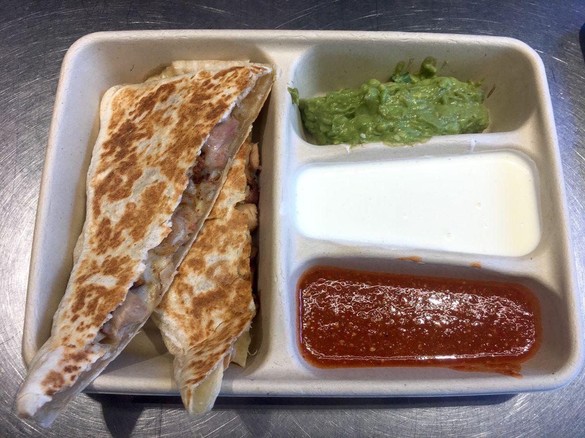 Chipotle, quesadilla, taco bell