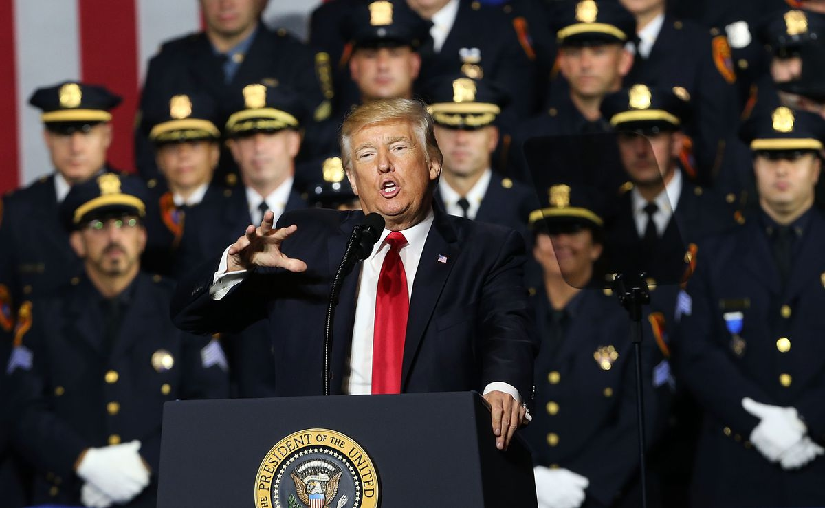 were going to destroy the vile criminal cartels ms 13 and many other gangs said president trump during his speech on july 28 2017 in brentwood new