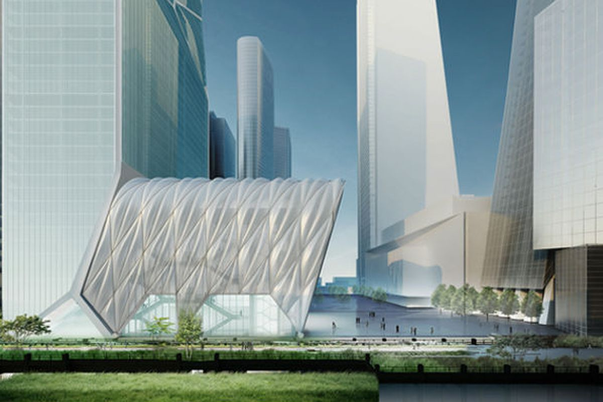 """Culture Shed rendering via <a href=""""http://www.dsrny.com/"""">Diller Scofidio + Renfro</a>"""