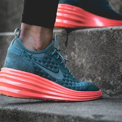 """<a href=""""http://store.nike.com/us/en_us/pd/lunarelite-sky-hi-shoe/pid-845907/pgid-1566645 """">Nike Lunar Elite Sky Hi Shoes</a>, $105.""""These shoes are perfect for your after gym look. They're comfortable and sporty but add a little pop of color. We throw th"""