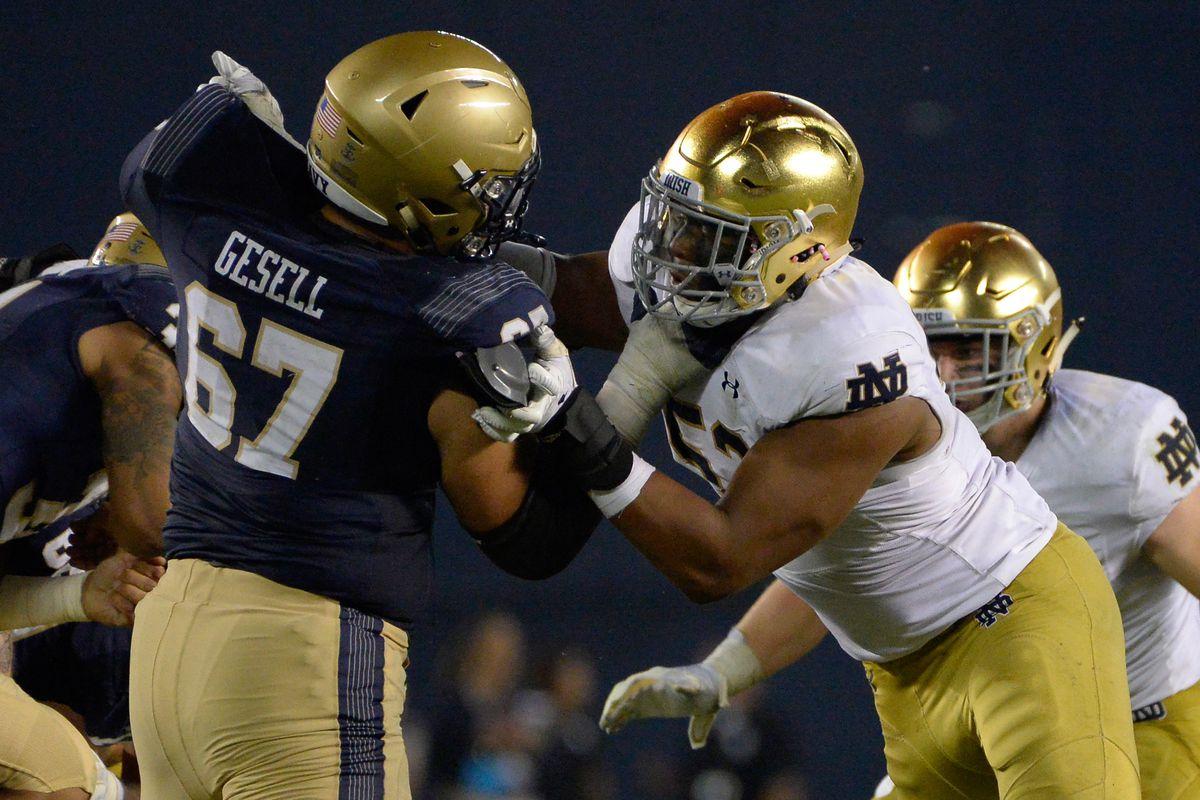 Notre Dame Fighting Irish Football: Navy Midshipmen Game Preview